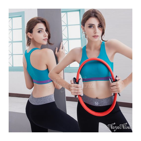Anna Mu - Yoga Master Royal blue Sports Bra