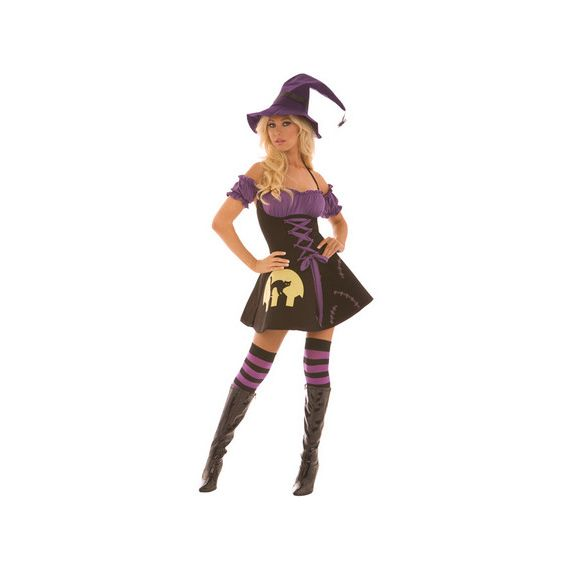 Elegant Moments - Moonlight Witch Dress (Halloween Party)