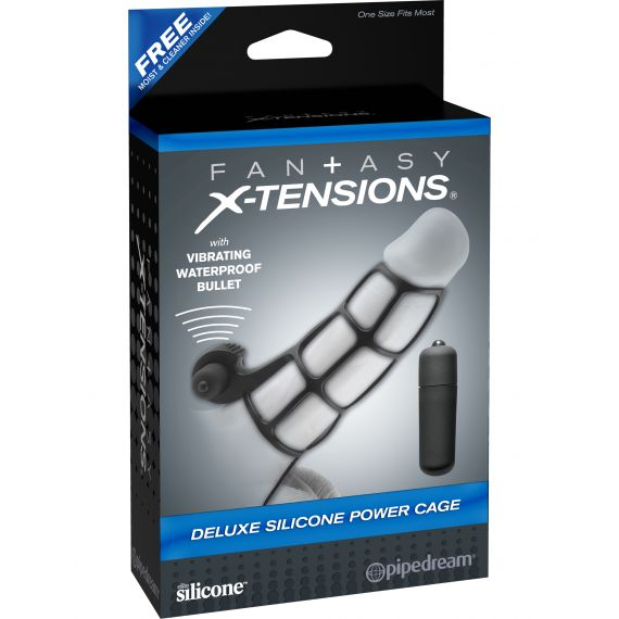 Fantasy X-tensions - Deluxe Silicone Power Cage