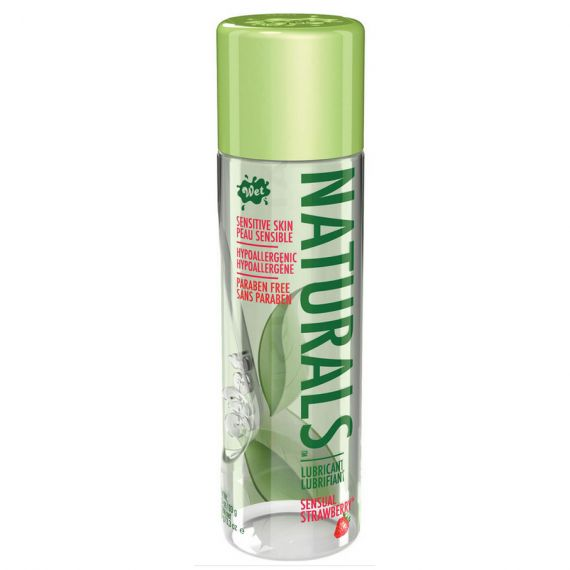 Wet Lubricants - Naturals Sensual Strawberry