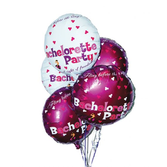 Bachelorette Party - foil balloons