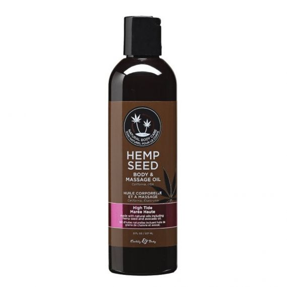 Earthly Body - Hemp body & massage oil(High Tide) 8 oz