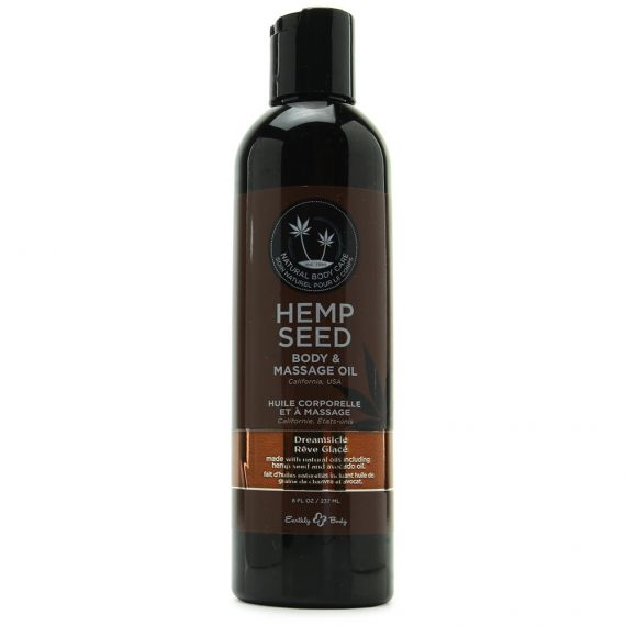 Earthly Body - Hemp body & massage oil(Dreamsicle) 8 oz