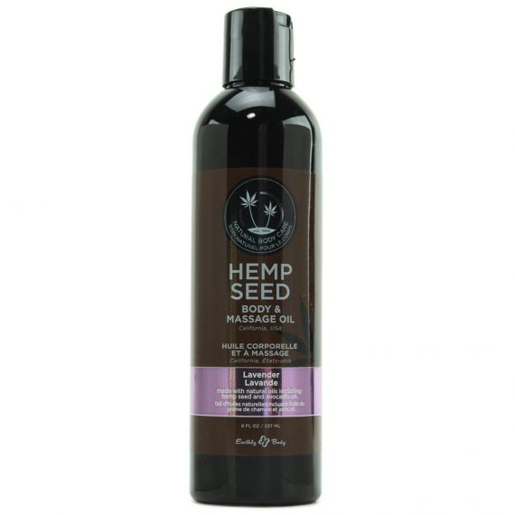 Earthly Body - Hemp body & massage oil(Lavender) 8 oz