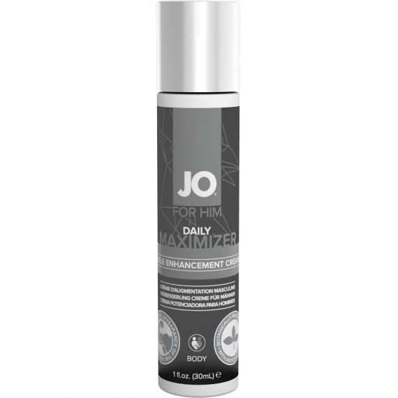 System JO - for Him Daily Maximizer Male Enhancement Cream