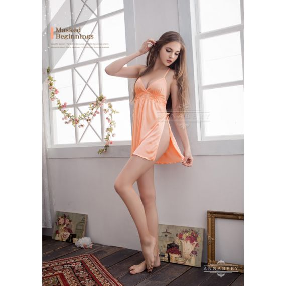 AnnaBery - Shine to your lover Open Sides Plus Size Babydoll
