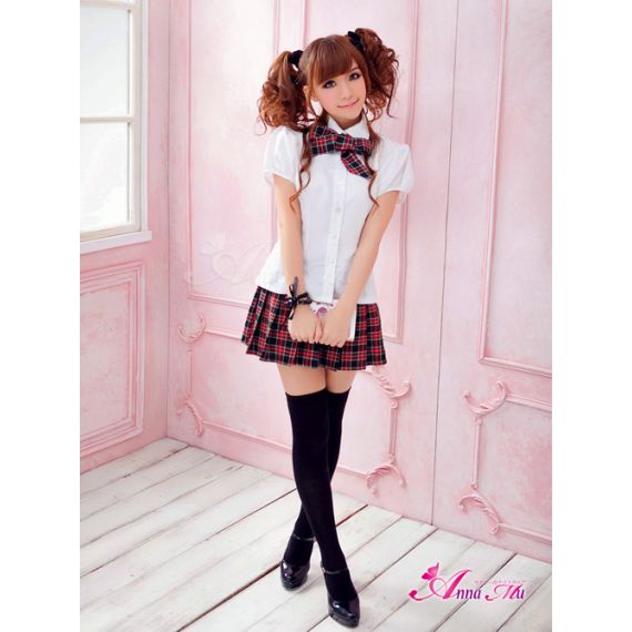 Anna Mu's - Timid Obedient School Girl Uniform