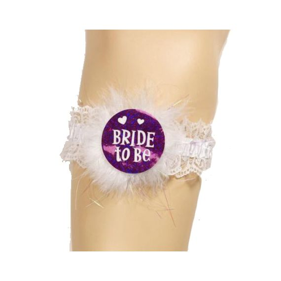Bachelorette Party - Bride to Be Garter