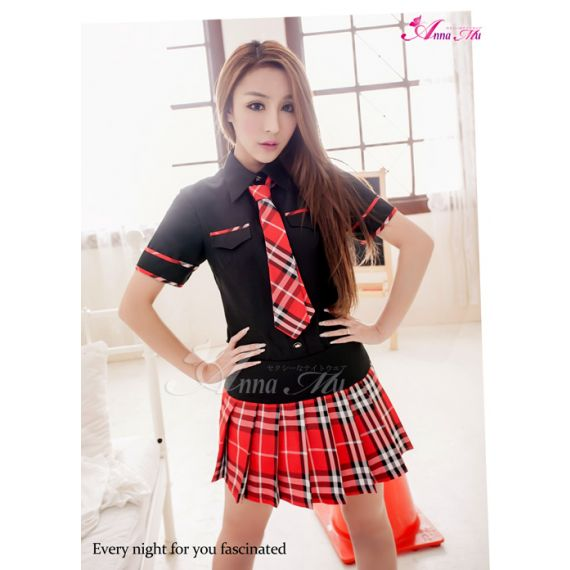 Anna Mu - Rebellious Schoolgirl Uniform (Special Sales!)