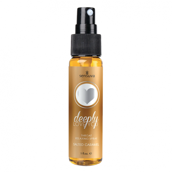 Sensuva - Deeply Love you Throat Relaxing Spray (Salted Caramel)
