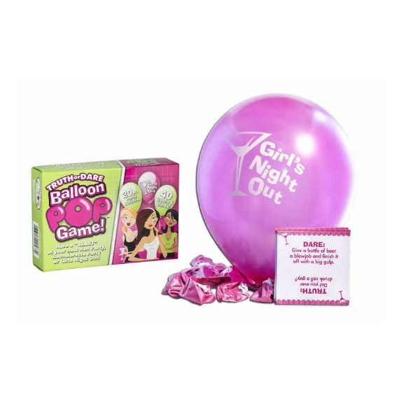 Bachelorette Party - Bride-to-Be Truth or Dare Balloon Pop Game