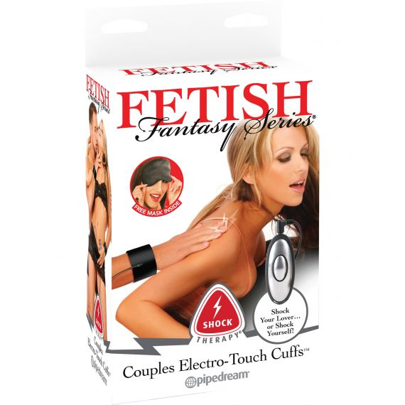 Fetish Fantasy Series - Shock Therapy Couples Electro Touch Cuffs