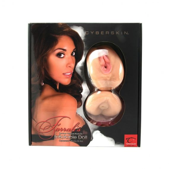 Farrah Abraham Inflatable Doll with CyberSkin Pussy & Ass