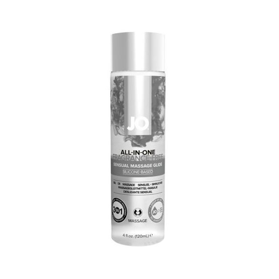 System JO - All In One Massage Glide Fragance Free - 4 oz