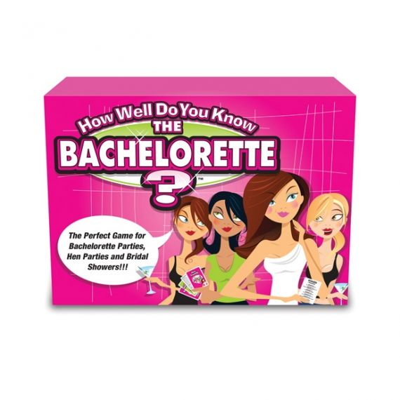 Bachelorette Party - How Well Do You Know The Bride Game