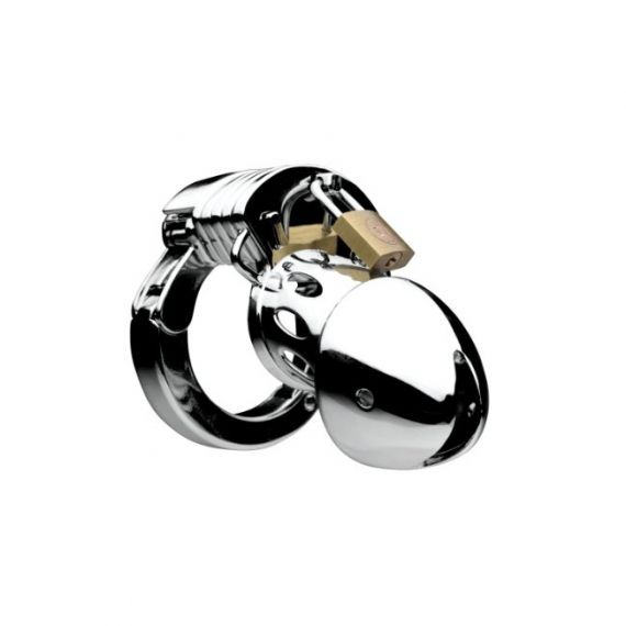 Master series - Incarcerator Adjustable Locking Chastity Cage