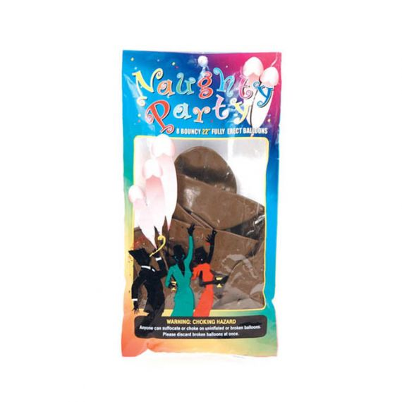 """Bachelorette Party - 22"""" Naughty Party Penis Balloons 8pc"""