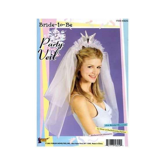 Bachelorette Party - Bride to be Wedding Veil